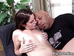 Shane Diesel and cock hungry Kara Price are passionately fucking.