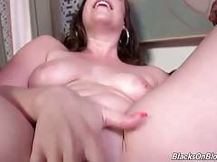 Virgo Peridot gets her pussy creampied by two black dudes.