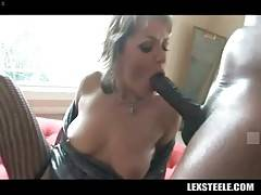 Awesome white milf Kelli Leigh starves for big black dick.